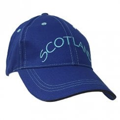 Blue Scotland Baseball Cap