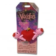 Bond Between Mother & Daughter Voodoo Keyring