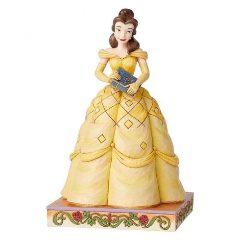 Disney Traditions Book-Smart Beauty Belle Figurine