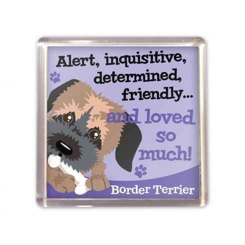 Wags & Whiskers Border Terrier Magnet