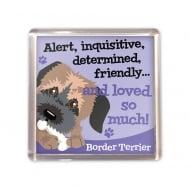 Border Terrier Magnet