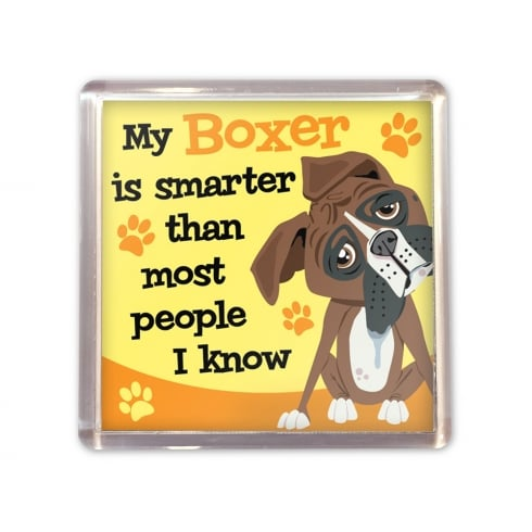 Wags & Whiskers Boxer Magnet