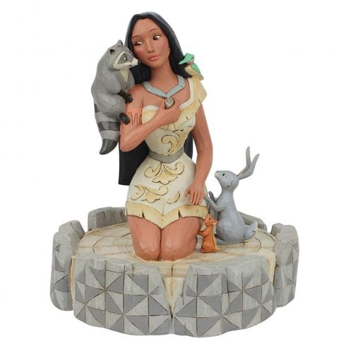 Disney Traditions Brave Beauty Pocahontas Figurine