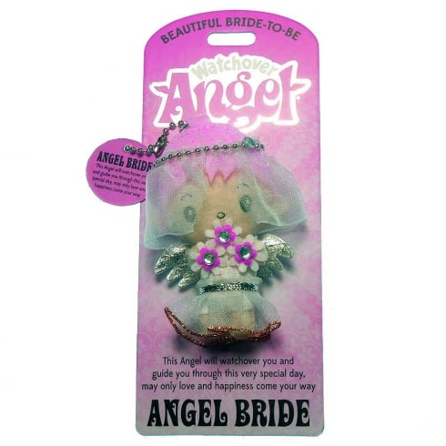 Watchover Angels Bride Angel Keyring