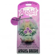 Bride Angel Keyring