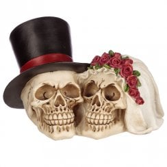 Bride & Groom Skull Head