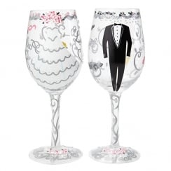 Bride & Groom Wedding Gift Set