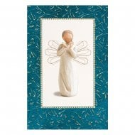 Bright Star Christmas Card With Message