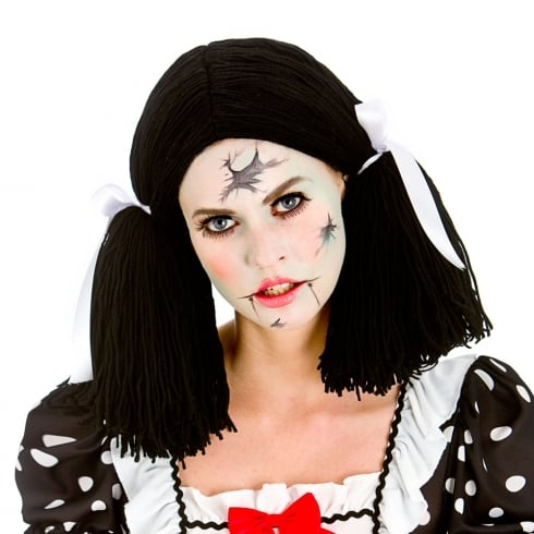 Wicked Costumes Broken Doll Wig