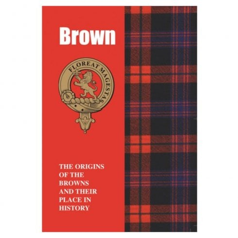 Lang Syne Publishers Ltd Brown Clan Book