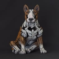 Bull Terrier Figurine - Red
