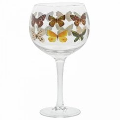 Butterflies Copa Gin Glass