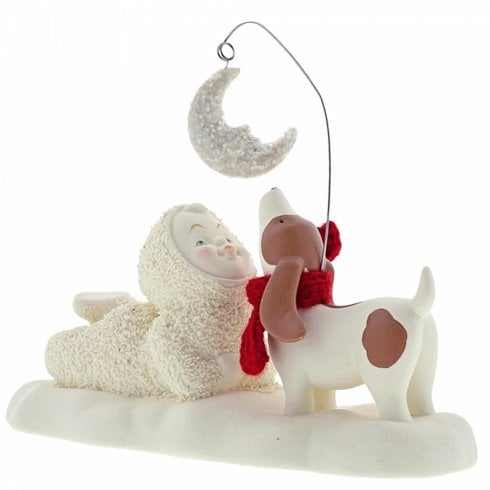 Snowbabies By The Light Of The Moon Figurine