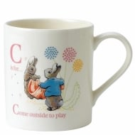 C Cotton Tail And Peter Mug