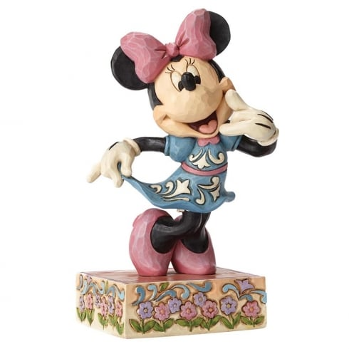 Disney Traditions Call Me Sweetheart Minnie Mouse Figurine