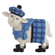 Cameron Sheep in Blue Tartan