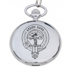 Campbell (of Argyll) Clan Crest Pocket Watch
