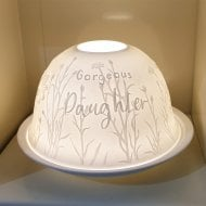 Candle Shade & Plate - Daughter