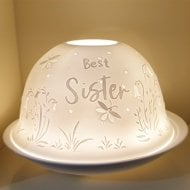 Candle Shade & Plate - Special Sister
