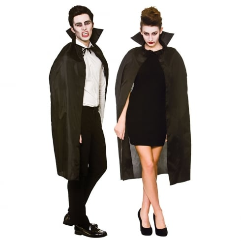 Wicked Costumes Cape With Collar Black