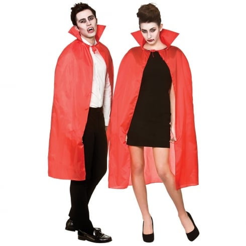 Wicked Costumes Cape With Collar Red