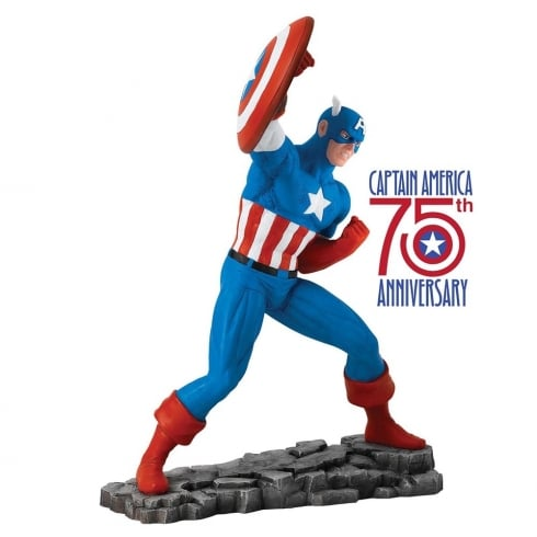 Marvel by Enesco Captain America Figurine