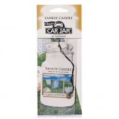 Car Jar Air Freshener Clean Cotton