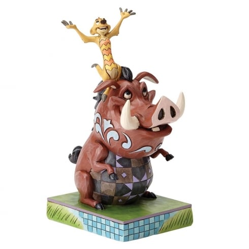 Disney Traditions Carefree Cohorts Timon and Pumbaa