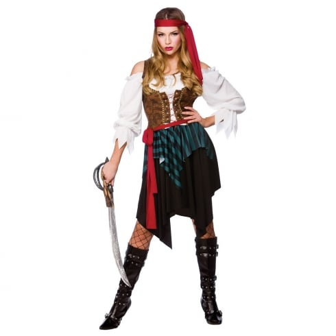 Wicked Costumes Caribbean Pirate Woman (XS)