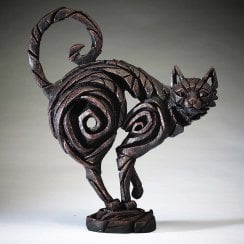 Cat Figurine - Black