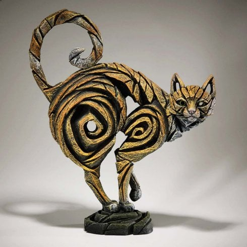 Edge Sculpture Cat Figurine - Ginger