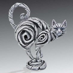 Cat Figurine - White
