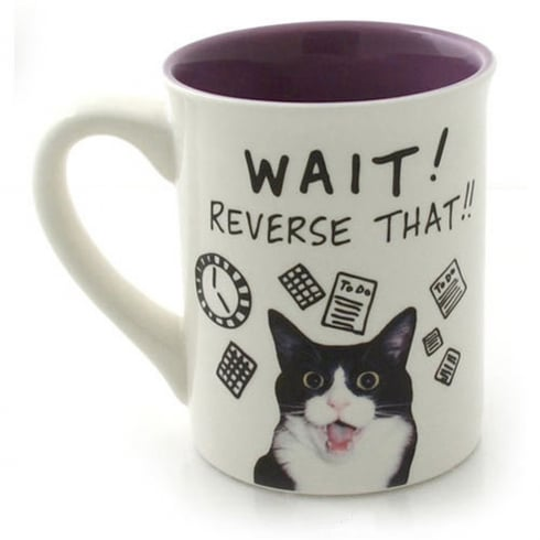 Hoots N Howlers Cat Time Mug