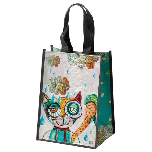 Allen Designs Cat Tote Shopping Bag