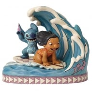 Catch The Wave Lilo and Stitch Figurine