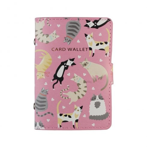 History & Heraldry Cats Card Wallet