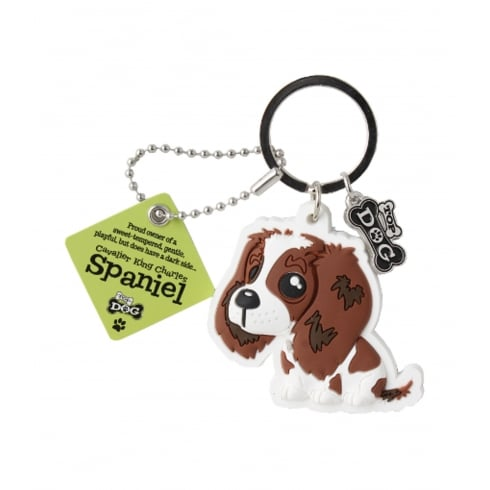 Wags & Whiskers Cavalier King Charles Spaniel Keyring
