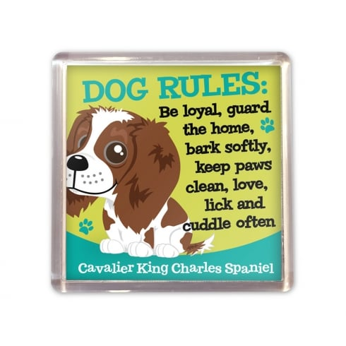 Wags & Whiskers Cavalier King Charles Spaniel Magnet