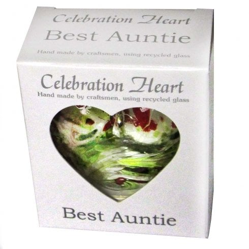 Milford Collection Celebration Heart - Best Auntie
