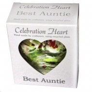 Celebration Heart - Best Auntie