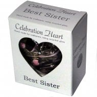 Celebration Heart - Best Sister