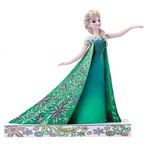 Disney Showcase Celebration Of Spring (Frozen Fever) Elsa Figurine