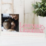 Celebrations Photo Frame 4x4 -Grandma