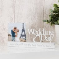 Celebrations Photo Frame 4x4 -Wedding Day