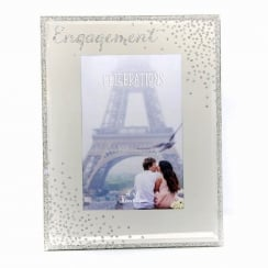 Celebrations Sparkle Engagement 4 x 6 Photo Frame
