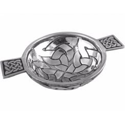 Celtic Knot Quaich Large