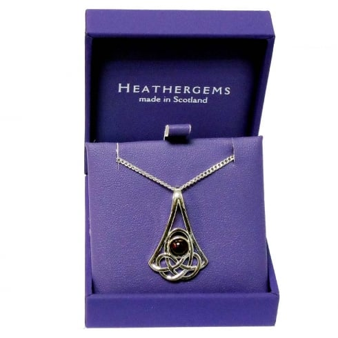 Heathergems Celtic Silver Plated Pendant