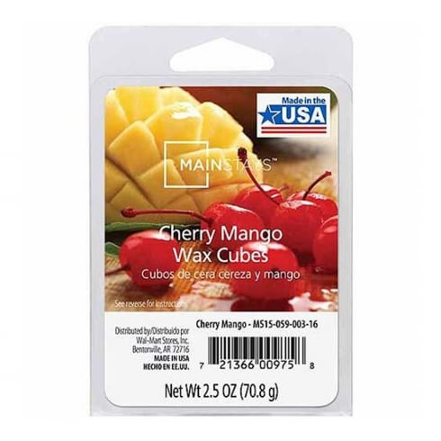 Mainstays Cherry and Mango Scented Wax Cube Melts