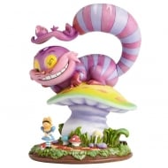 Cheshire Cat & Alice Figurine