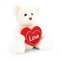 Chester Bear With Heart 20cm